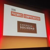 NoSoloEconomia en los Premios Comprendedor 2016