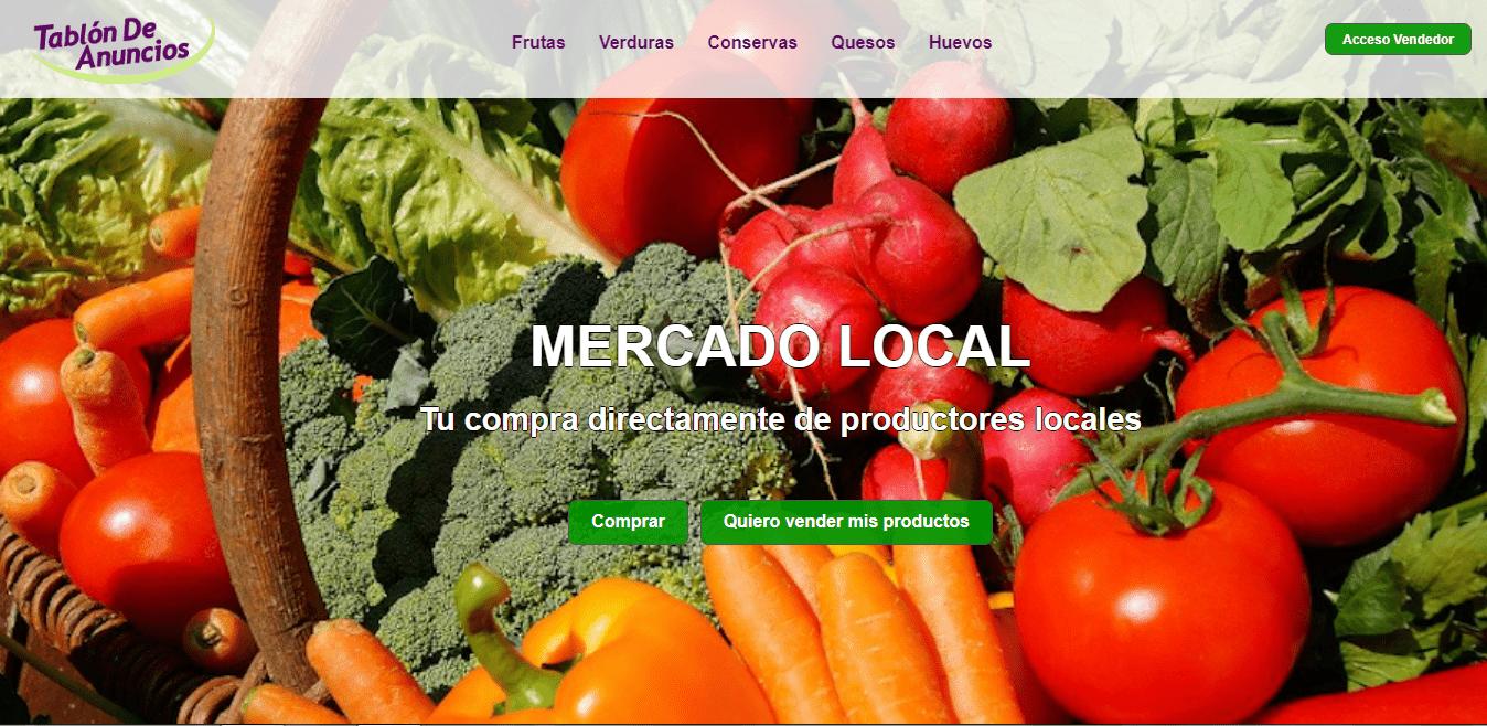 Apoyo al Comercio de Proximidad: Nace Mercado Local