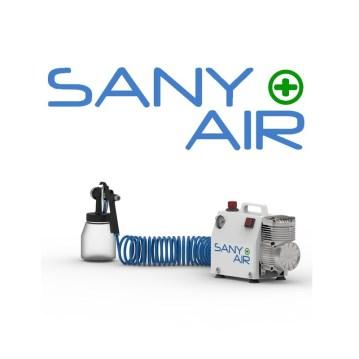 Compresor sin aceite con Kit Nebulización SANY AIR