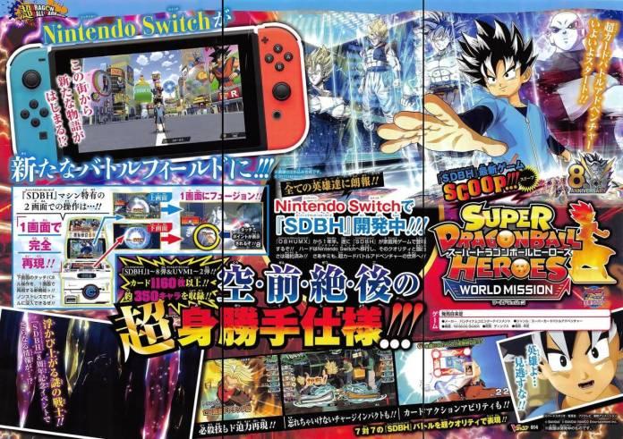 Super Dragon Ball Heroes: World Mission estrena teaser 1