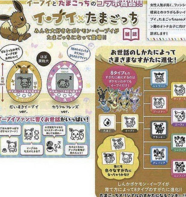 Pokémon y Tamagotchi vuelven a unirse en una edición especial de Eevee 1