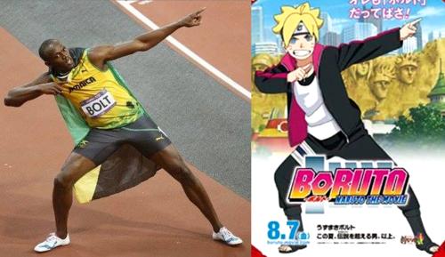 Usain Bolt es un fan de Boruto y el Internet lo reta al #NarutoRunChallenge 1