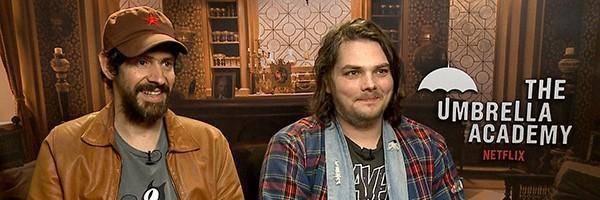 Gerard Way y Gabriel Bá
