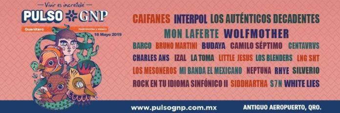 Interpol, Caifanes y más en el Festival Pulso GNP ?? 2