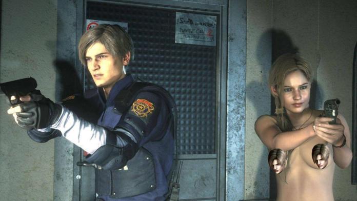Resident Evil 2 y Jump Force ya tienen nude mods... enfermos 1