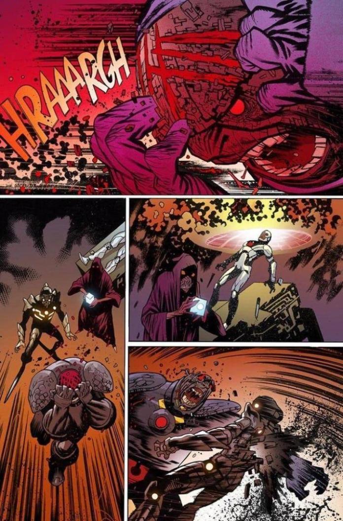 Darkseid sucumbe ante el virus