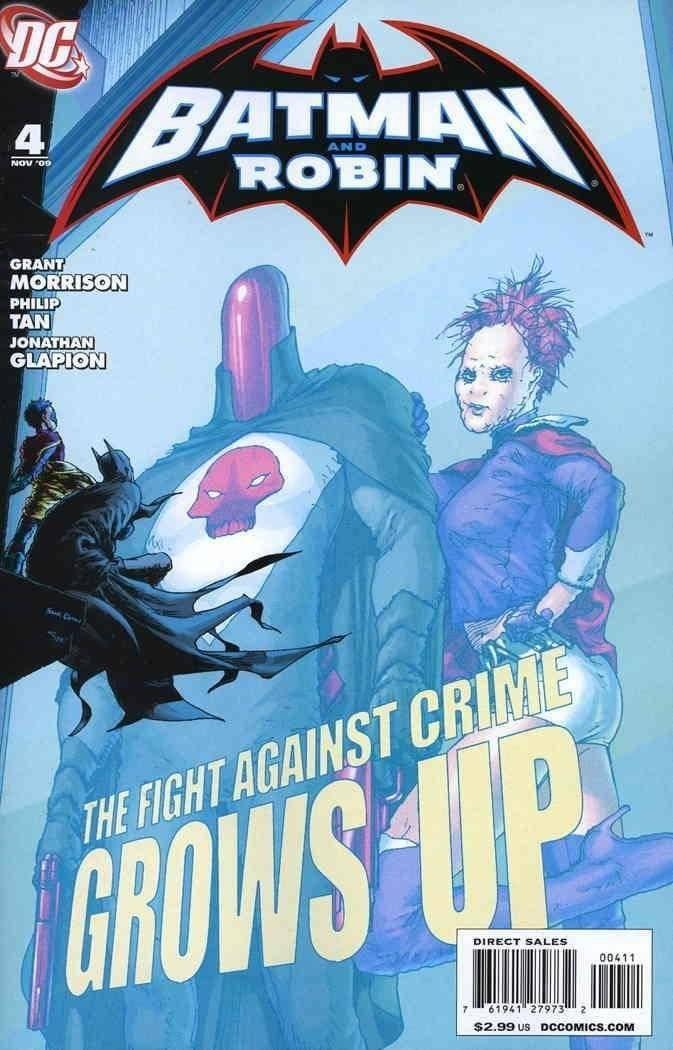 Batman & Robin #4 (2009)