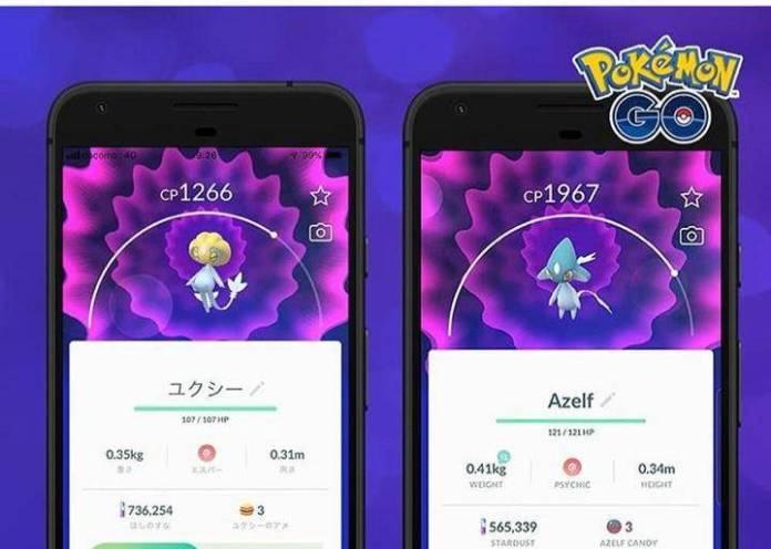 Pokémon GO: ¡Aparece el trió del lago de Sinnoh! 2