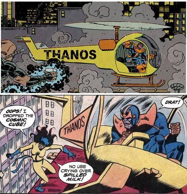 El arma de Thanos en Avengers: Endgame esta inspirada en el Thanoscopter 1
