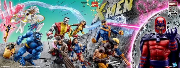 #SDCC2019 Hasbro recrea la portada X-Men # 1 de Jim Lee 2