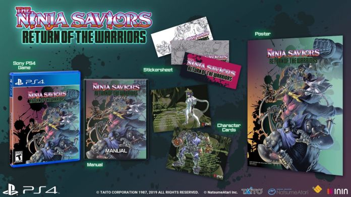 The Ninja Saviors Return of the Warriors ya tiene fecha de salida en América 2