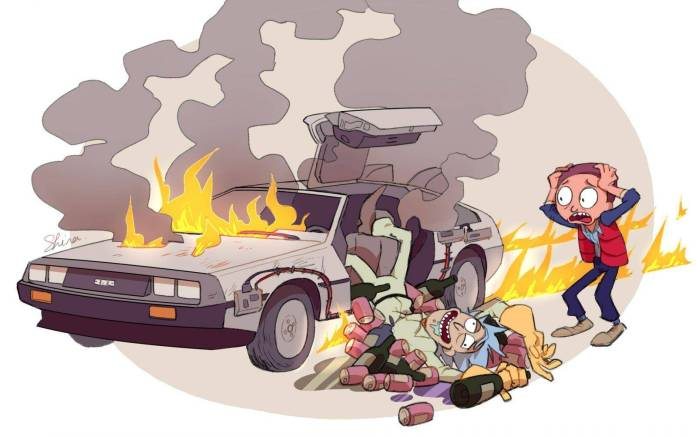 Rick and Morty, Back to the Future