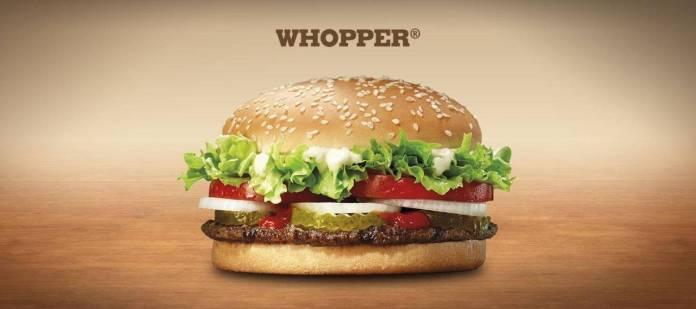 Whooper Burger King