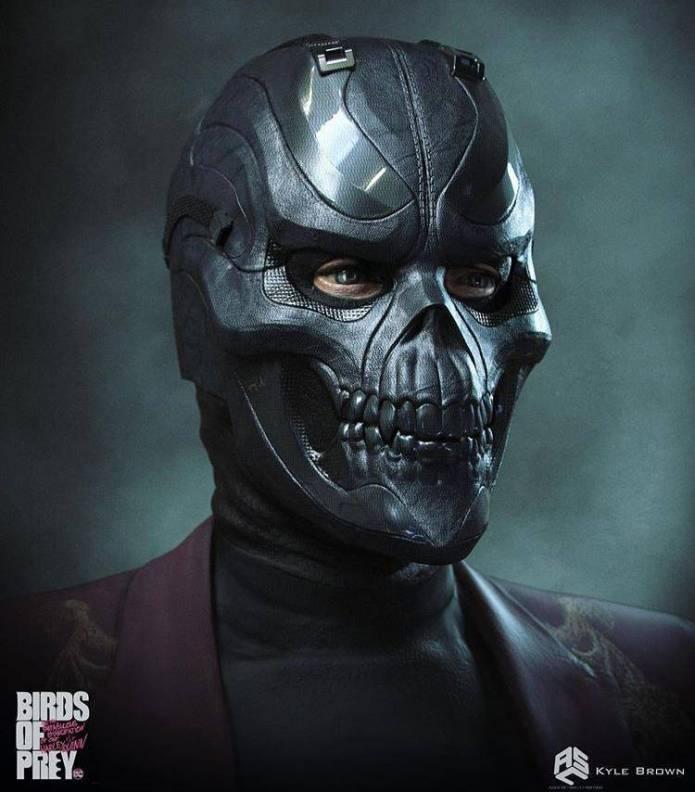 Este era el look original de Black Mask en Harley Quinn: Bird of Prey 3