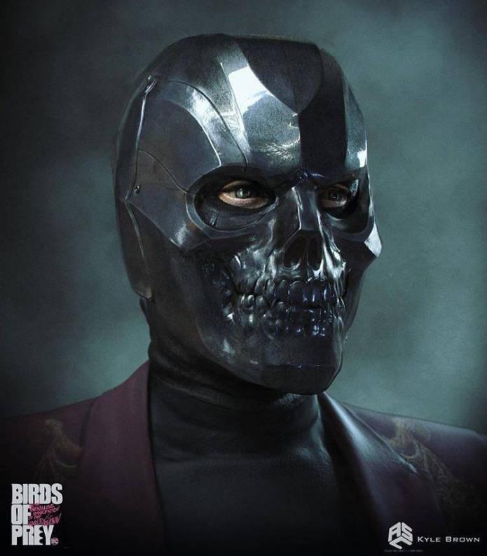 Este era el look original de Black Mask en Harley Quinn: Bird of Prey 5