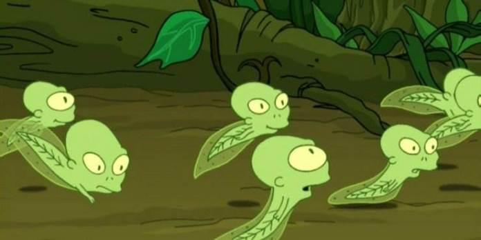 ¿Dónde están los niños de Kif y Amy (biológicos de Leela)?