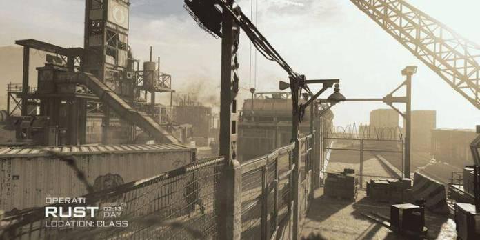 call of duty modern warfare rust