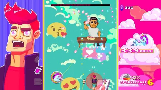 Reseña: Rainbows, Toilets & Unicorns te lleva por mundos coloridos 3