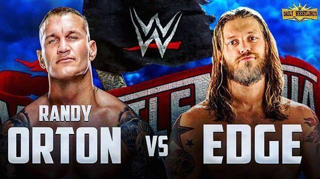 Wrestlemania 36: Randy Orton vs Edge
