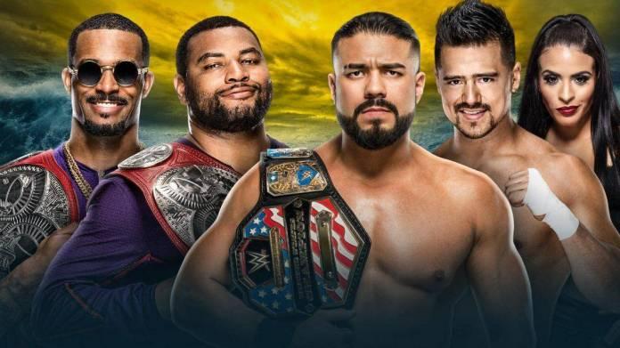 Wrestlemania 36: RAW Tag Team Title Match