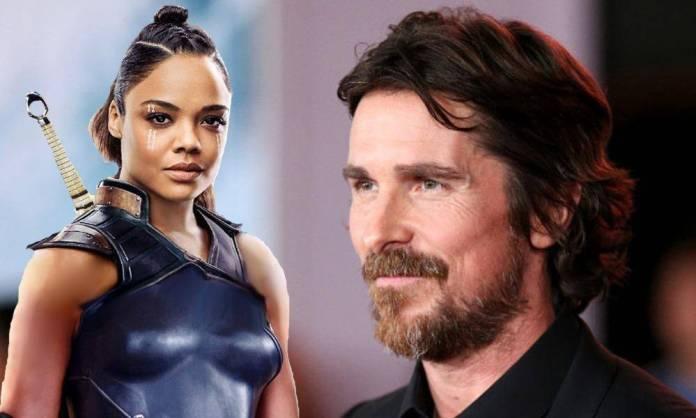 Christian Bale & Tessa Thompson