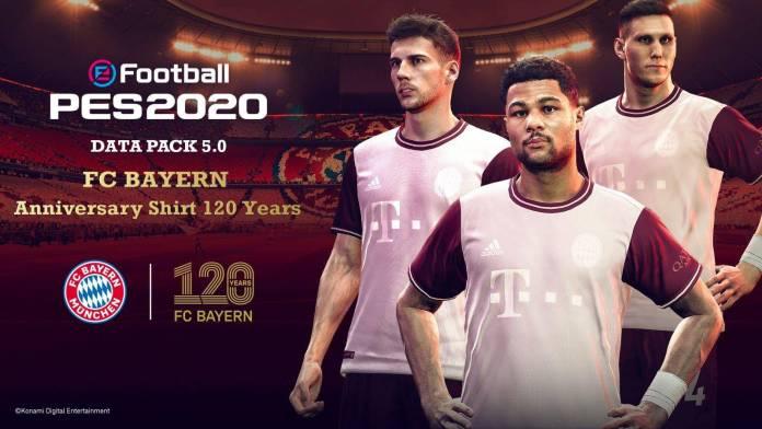 FC Bayern Munich 120 años PES 2020