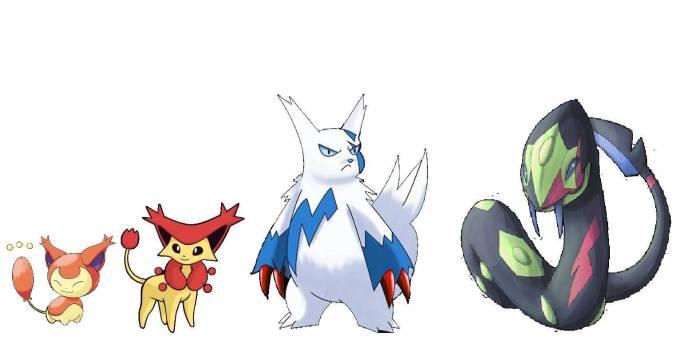 Pokémon Johto (Skitty + Zangoose + Seviper)