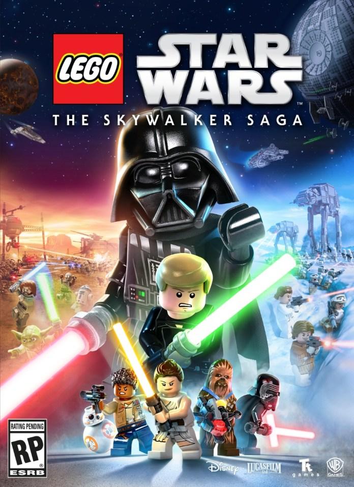 LEGO Star Wars presenta el arte de su portada 1