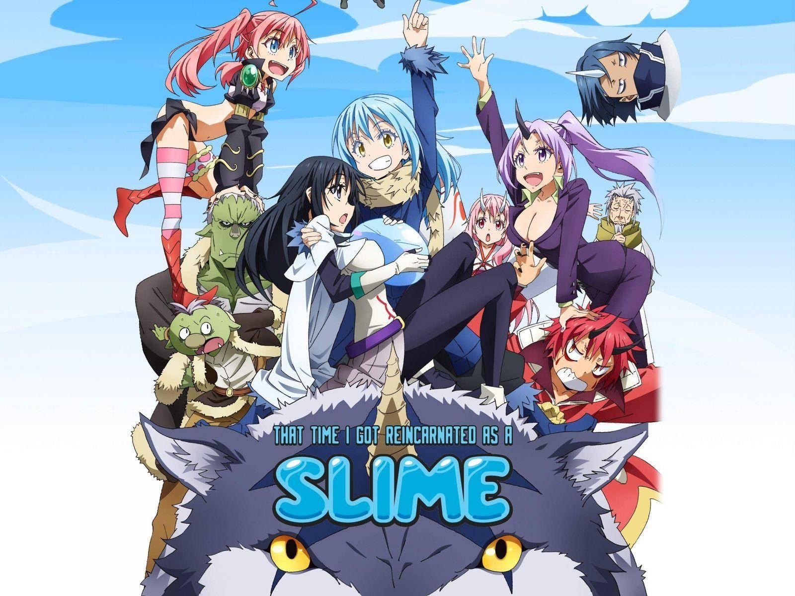 That Time I Got Reincarnated As A Slime , anime en crunchyroll