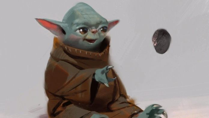 Estos eran los primeros diseños de Baby Yoda 2