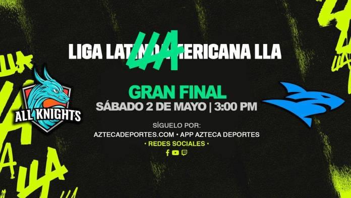 All Knights se corona en la LLA de League of Legends Apertura 2020 1