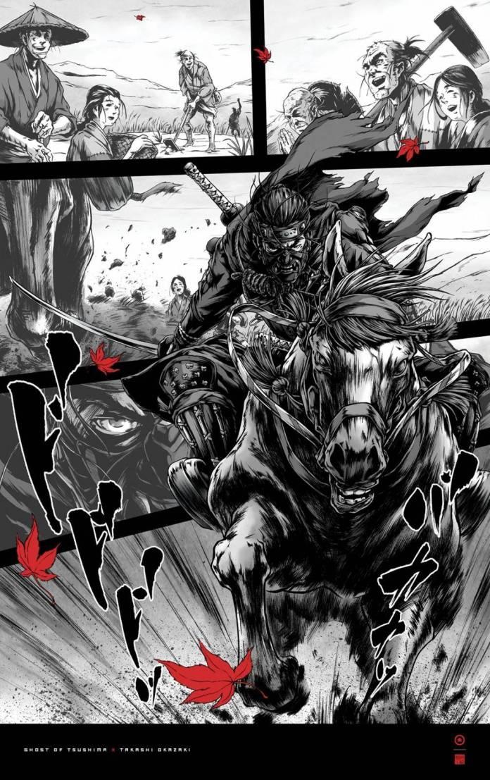 Ghost of Tsushima: Descarga estos 4 pósters especiales gratis 1