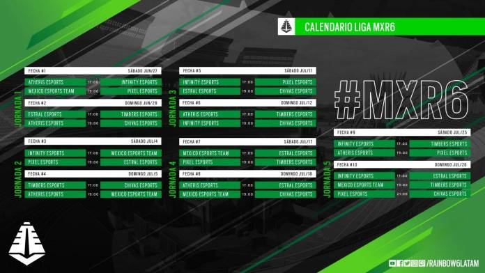 Rainbow Six Siege: El campeonato Mexicano¡Ya comenzó! 1