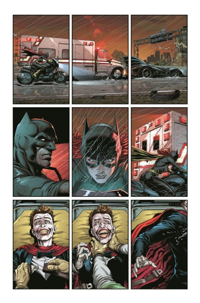 #ComicConAtHome: Primer vistazo de Batman - Three Jokers 5