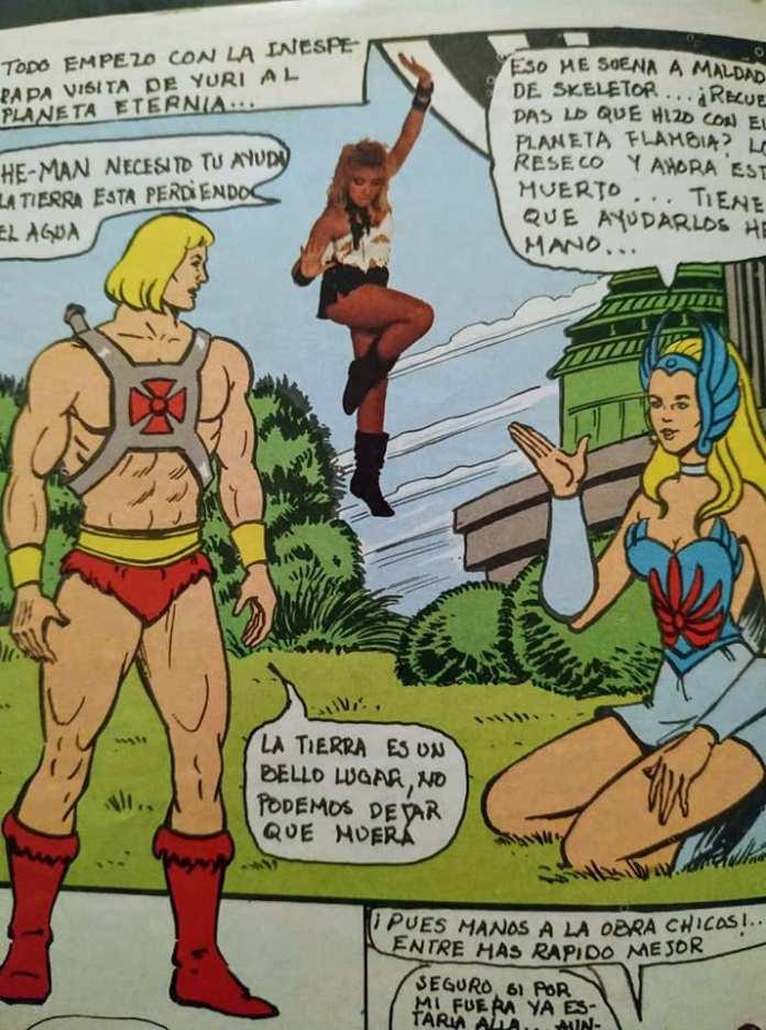 He-Man y Yuri: El crossover de los 80's que nadie recuerda 5