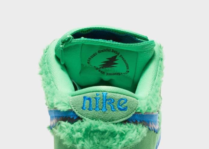 Conoce los 3 modelos de tenis de Grateful Dead x Nike con una bolsa oculta (¿Para marihuana?) 12