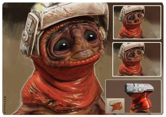 Star Wars: Snoke originalmente sería una mujer 1