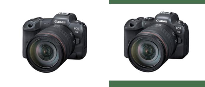 EOS R5 y EOS R6 son las cámaras son espejo completo más avanzadas de Canon 1