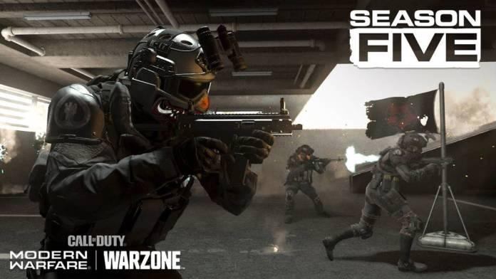cod modern warfare y warzone temporada 5