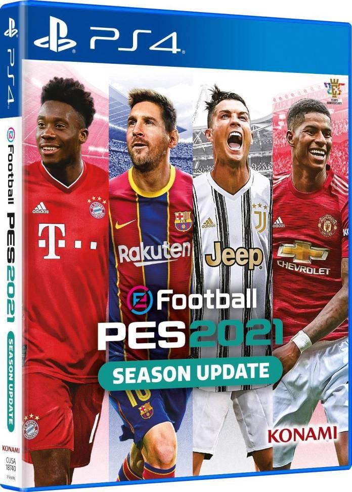 eFootball PES 2021 ya cuenta con portada oficial 2