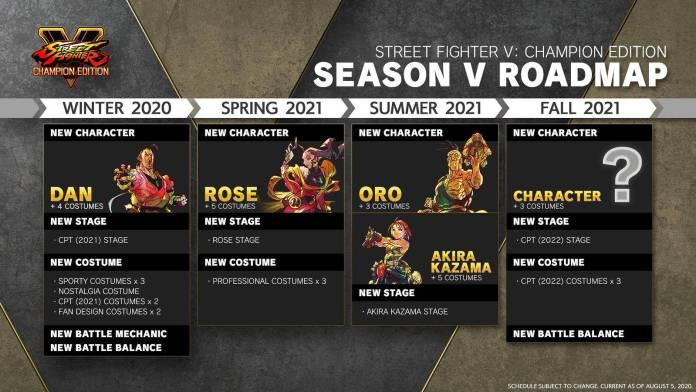 Street Fighter V recibe más personajes y contenido 1