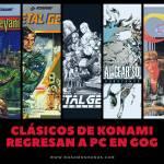 Konami, Metal Gear Solid, Castlevania, Contra