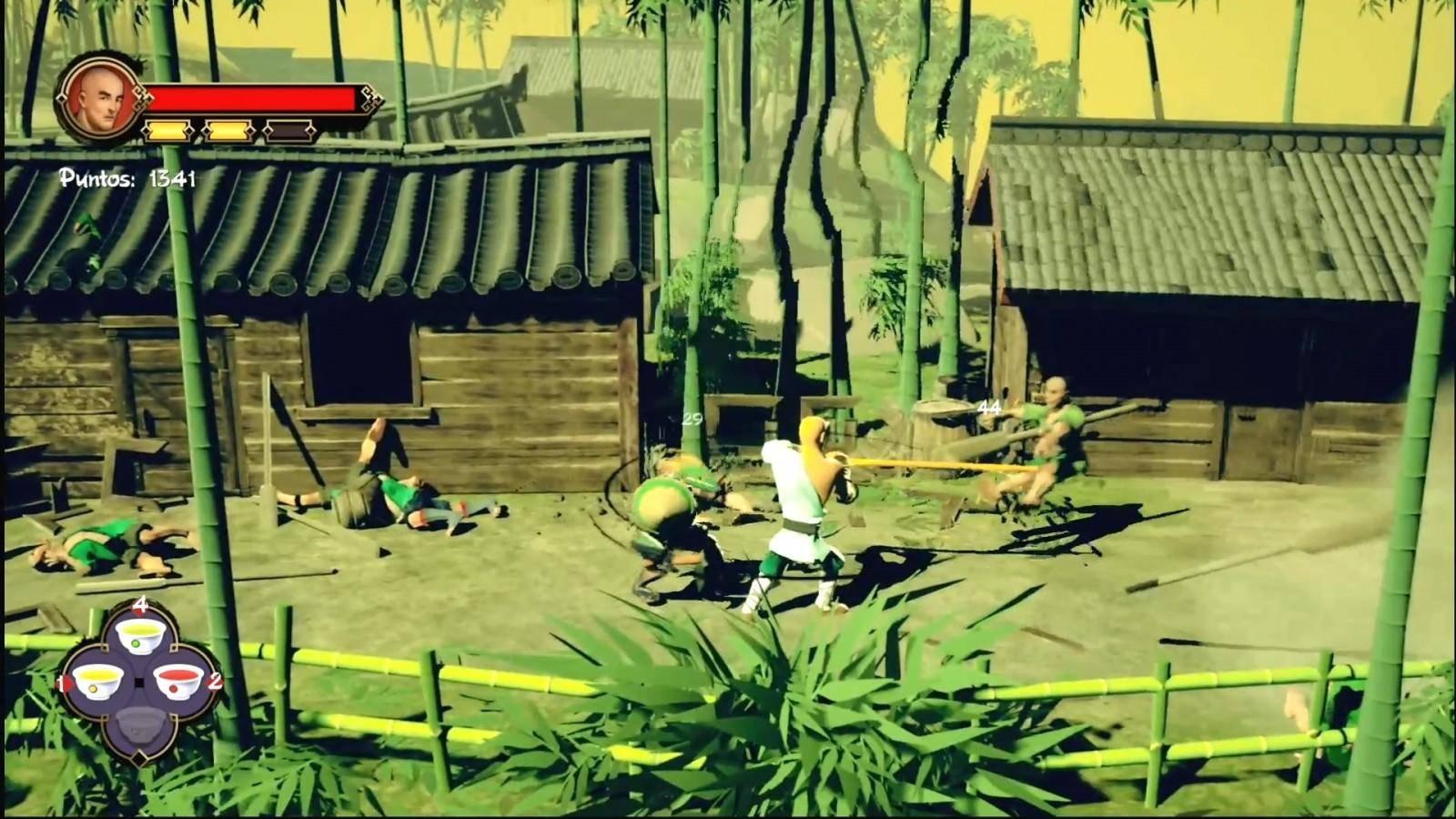 Reseña: 9 Monkeys of Shaolin 15