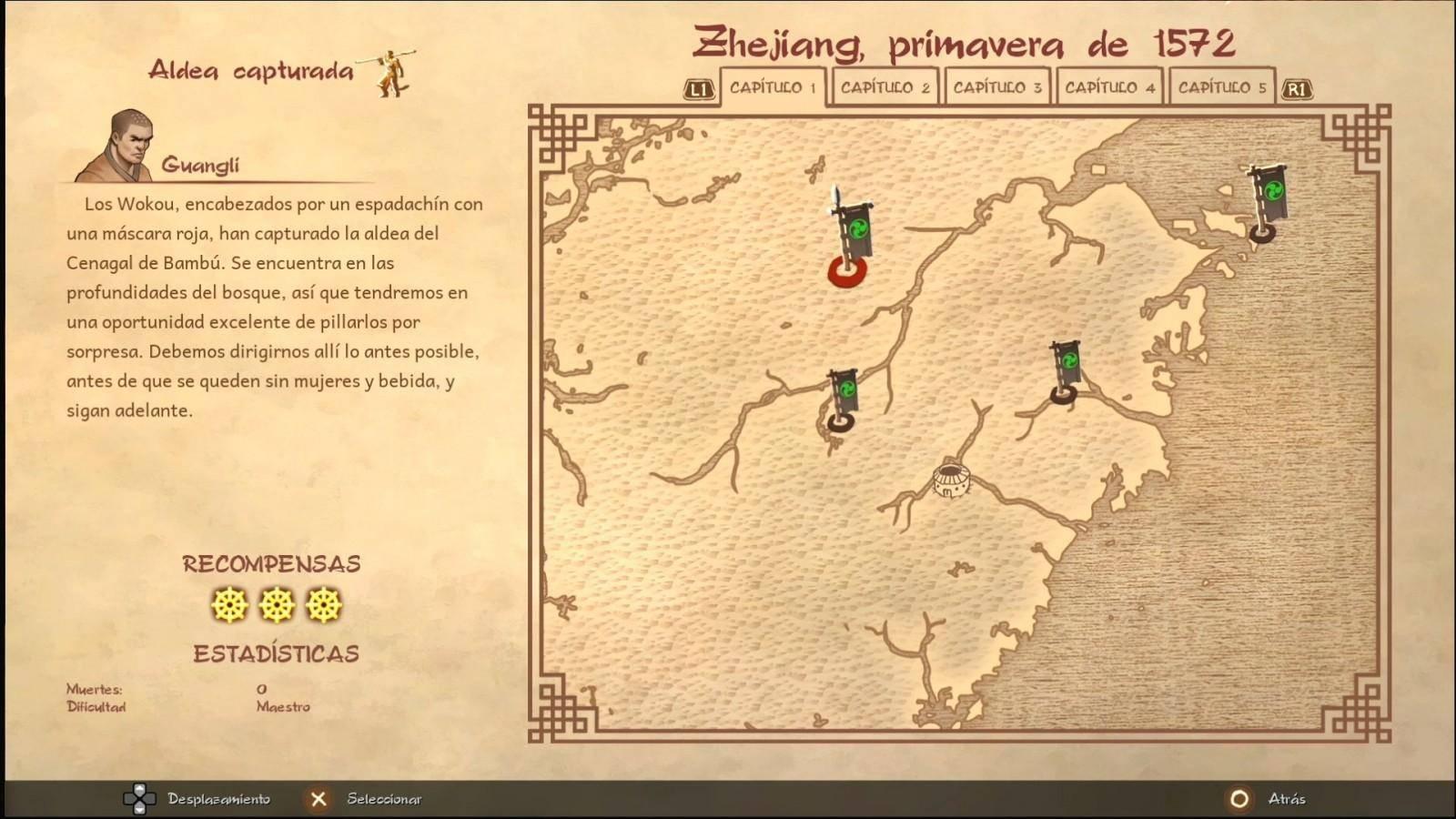 Reseña: 9 Monkeys of Shaolin 7