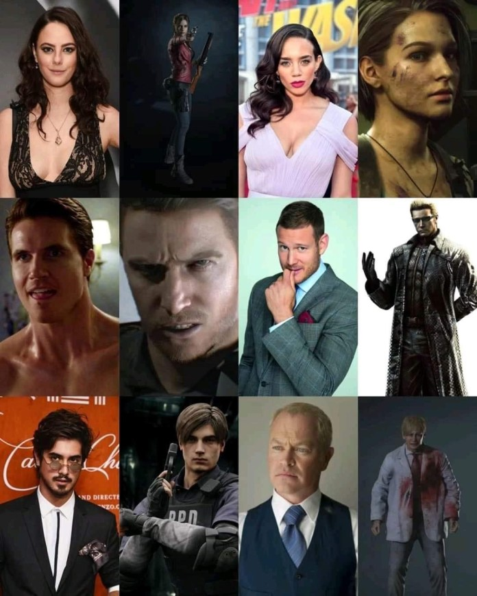 El reboot de Resident Evil presenta a su cast 2