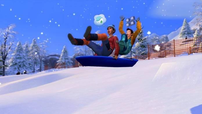 Escapada en la nieve es la increíble expansión de invierno para The Sims 4 2