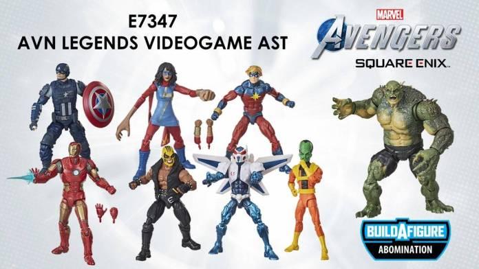 Conoce las figuras del Gameverse del videojuego Marvel's Avengers 1