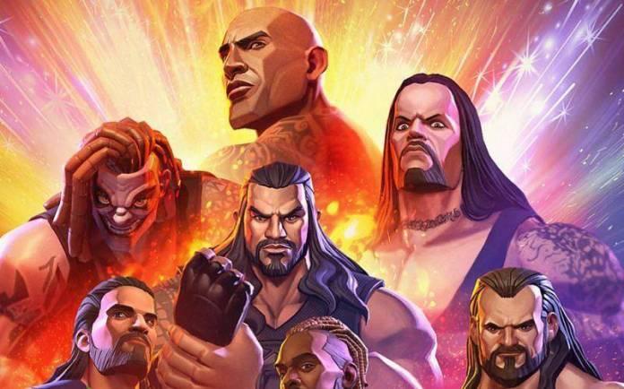 WWE y Crunchyroll anuncian su anime 1