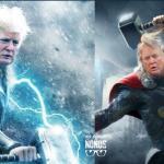 Donald Trump, Mjolnir, Thor