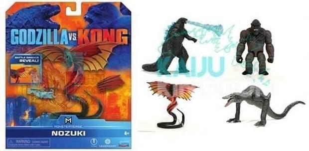 Godzilla vs Kong (Nozuki)